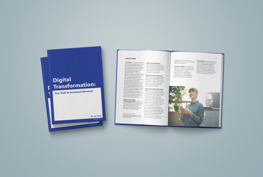 digital transformation mockup