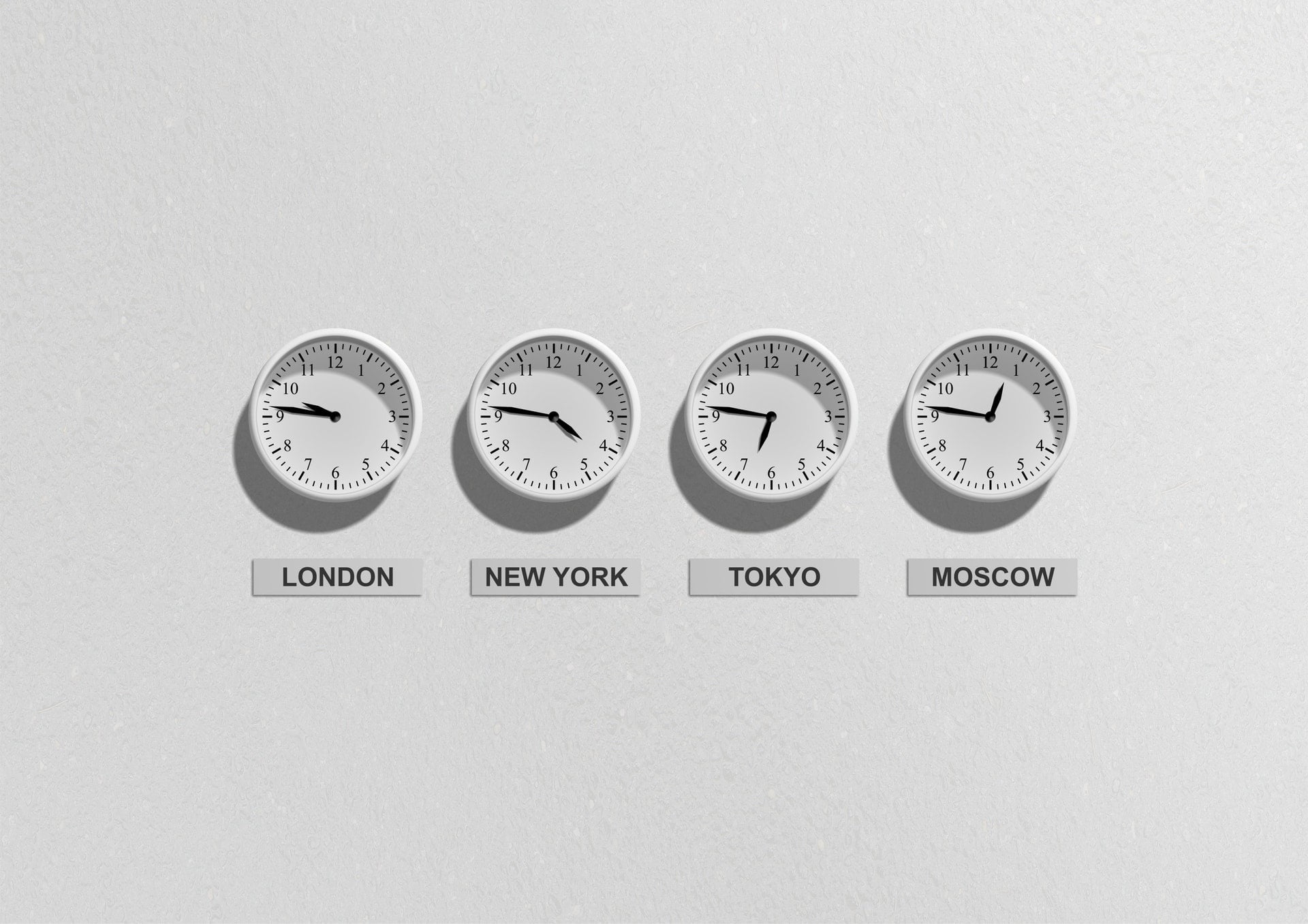Business time clocks